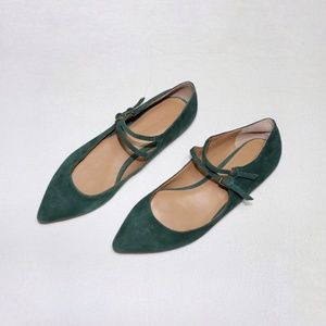 ❣️BANANA REPUBLIC Adana Suede Leather Flats